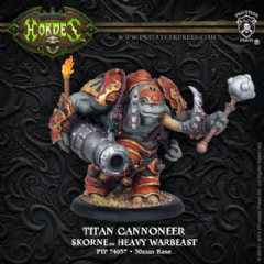 Skorne Heavy Warbeast (Cannoneer, Gladiator, Sentry)